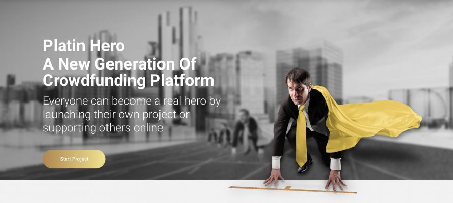 How to launch a funding campaign on the Platin Hero crowdfunding platform?