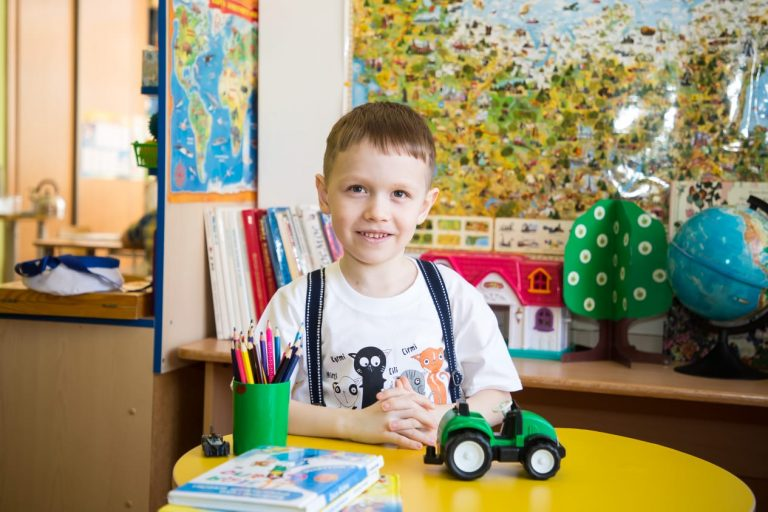 Charity project: Kirill Ekimenko, 7 years old.
