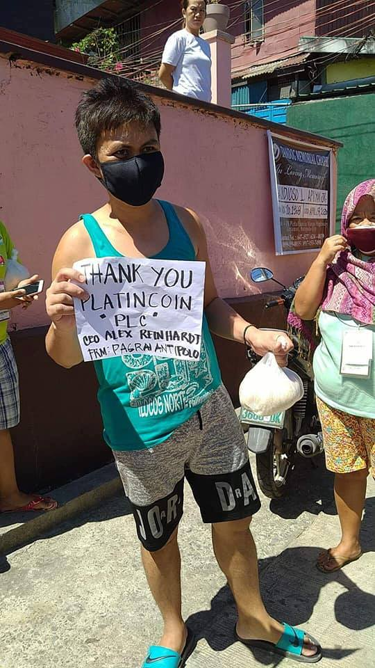 Feed the Philippines - Alex Reinhardt's charity initiative