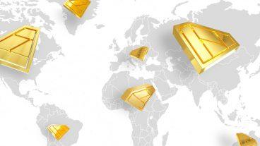 वैश्विक क्राउडफंडिंग मार्किट में कौन सा देश हावी हैं?