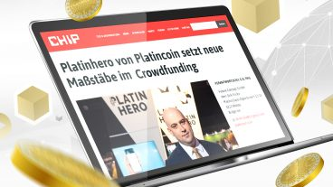 Nouvel article sur Platin Hero dans un des plus grands magazines allemands CHIP
