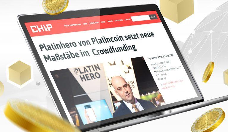Nuovo articolo su Platin Hero nella più grande rivista tedesca CHIP
